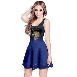 Dresses & Skirts - 🦄Unicorn Ombré Skater Dress, Size L